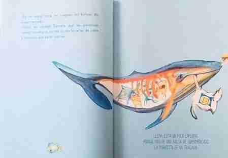contenido ballena llena Depeques